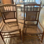 Value of Conant Ball Rocker and Regular Chair?  - two antique style chairs