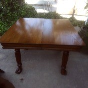 Value of an Antique Extending Table