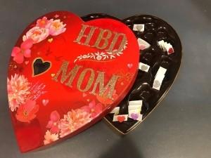 Upcycled Valentine's Candy Box Birthday Gift