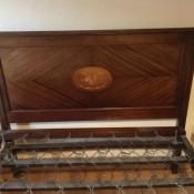Value of an Antique Bed? - headboard and flat spring assembly