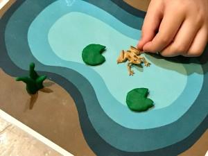 Frog Play Mat