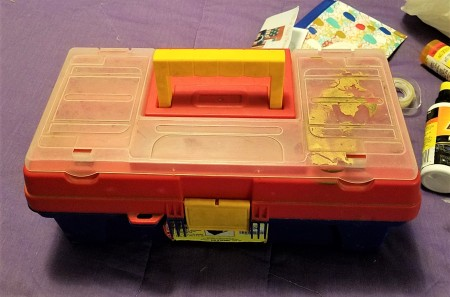 A tool box to hold car stuff.