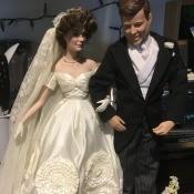 Value of Porcelain Dolls? - wedding dolls of JFK and Jackie