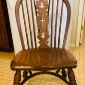 Value of Vintage Conant Colonial Revival Chairs? - armless colonial revival dining chair