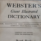 Value of an Old Webster's Dictionary? - cover page