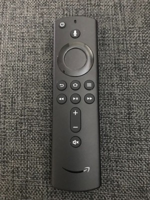 A Fire stick remote.