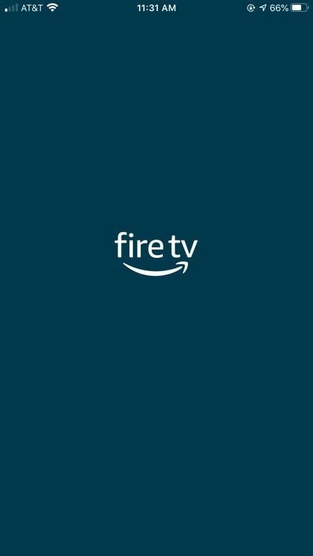 The firetv app.
