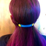 DIY Ear Saver and Mask Extender - view from the back