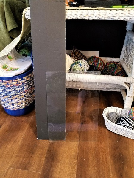Sprucing Up a TV Stand - supplies