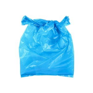A plastic grocery bag.