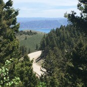 An overview of Bear Lake.