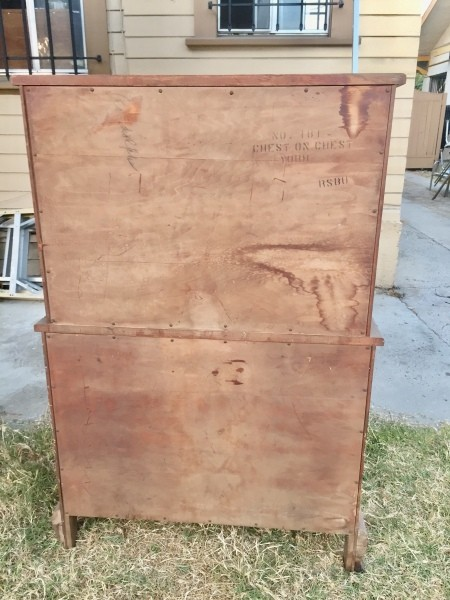 Identifying a Vintage Chest of Drawers?
