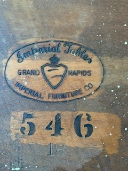 Value of Antique Imperial Telephone Table?