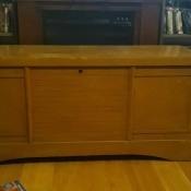 Value of a Vintage Cedar Chest? - vintage chest