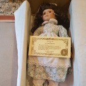Brinn Collectible Edition Porcelain Doll