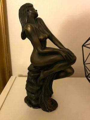 Value of Leonardo Collection Bronze Figurines? - sitting nude