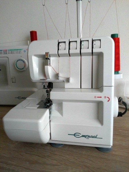 My Empisal 760c Overlocker Not Sewing?