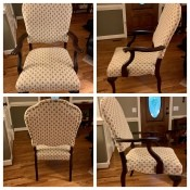 Value of an Antique Louis XV Style Chair? - collage of chair photos