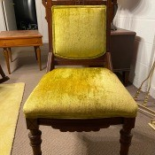 Value of Vintage Chairs with Moldy Upholstery?