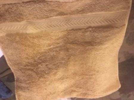 Crochet Top for Hanging Towel - towel
