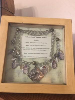 Ancestor Necklace - framed necklace
