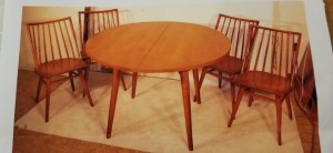 Value of Conant Ball Dining Set?  - round dining table and chairs