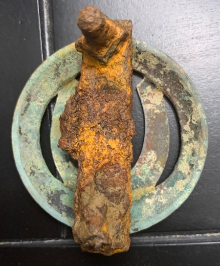 Identifying an Old Equipment Emblem?