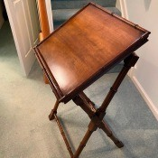 Identifying a Brandt Table? - folding possible book table