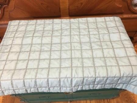 Five Minute No-Sew Throw Pillow - sham