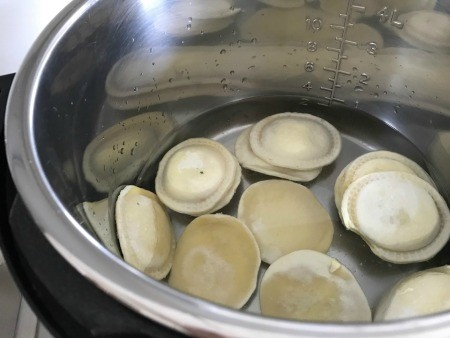 Tortellini in an Instant Pot.