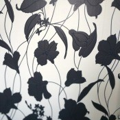 Discontinued Graham and Brown Contour Marylou Wallpaper? - gray and white floral wallpaper