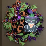 New Name for My Wreath Business? - Halloween wreath