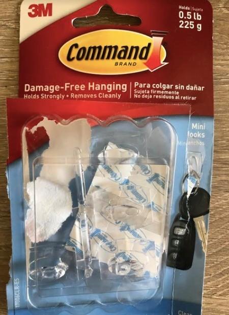 Hanging Window Door Covering - Command hook package