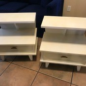 Value of Dixie End Tables? - two tier end tables with a drawer