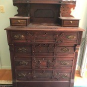 Age and Value of an Antique Dresser? - antique dresser