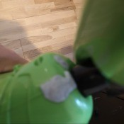 Repairing a Leaking H2O X5 Mop? - blue tack on leaky mop