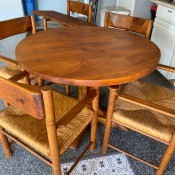 Value of a Conant Ball Table and Chairs?