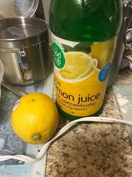 Lemon-Butter Bars