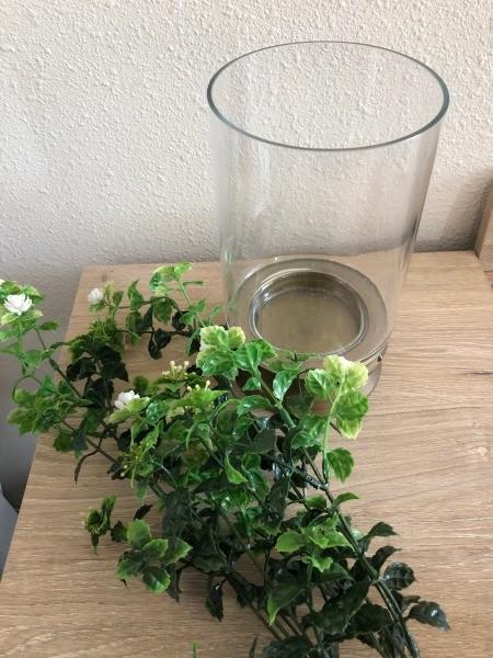 Decor for Less Using Hurricane Vases - supplies