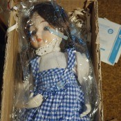 Value of a Seymour Mann Dorothy Doll?
