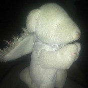 Identifying a Stuffed Mouse Toy? - stuffed praying, kneeling mouse