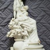 A Giuseppe Armani statue.