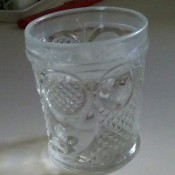 Identifying Vintage Drinking -Glasses? - molded glass with varied pattern