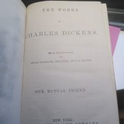 Value of an Antique Dickens Book? - title page