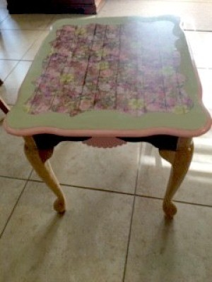 Upcycled Wooden Table