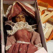 Value of a Crimson Collection Mariah Doll? - doll in box