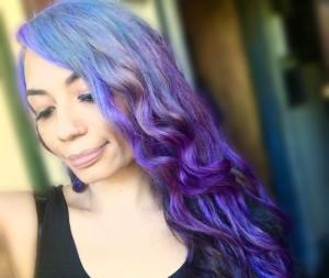 Making Pastel Hair Dyes - mermaid ombré hair color