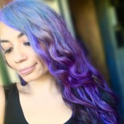 Making Pastel Hair Dyes - mermaid ombré hair color
