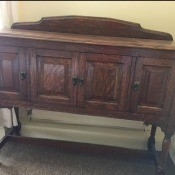 Identifying a Vintage or Antique Buffet/Sideboard?