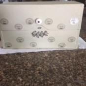 Recipe Box Makeover - finished box